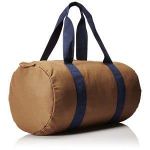 Herschel Leather Duffle Bag In Brown Color